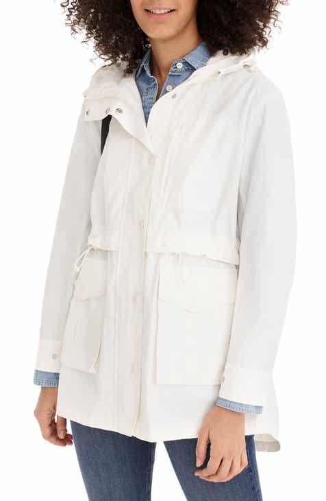 8845d21cd042 Women s White Coats   Jackets