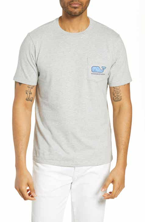 d1207fef8 vineyard vines Tarpon Sketch Whale Pocket T-Shirt