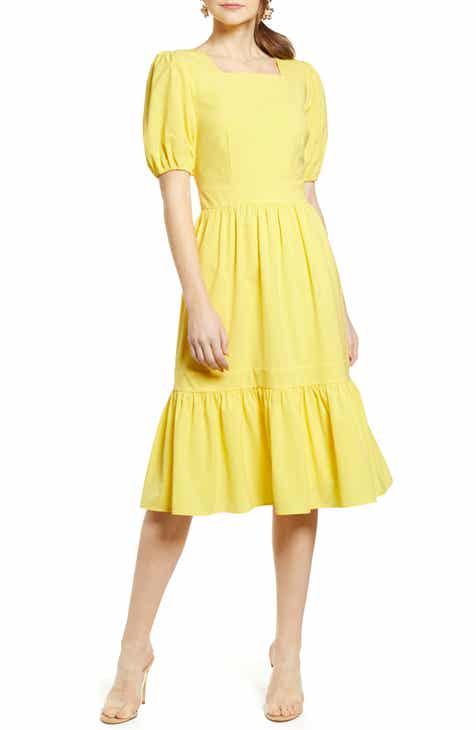 dc6b7827aa42 Rachel Parcell Puff Sleeve Dress (Nordstrom Exclusive)