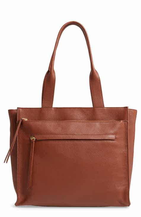 6d3e7c0769 Nordstrom Finn Pebbled Leather Tote