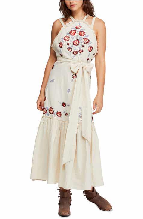 58c0de1e335 Free People Chrysanthemum Kiss Maxi Dress
