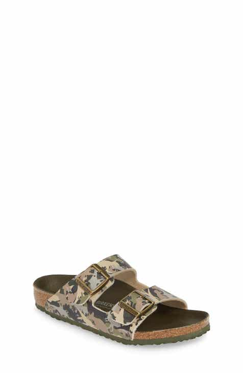 arrives d8547 5da8e Birkenstock Arizona Camo Slide Sandal (Toddler   Little Kid)
