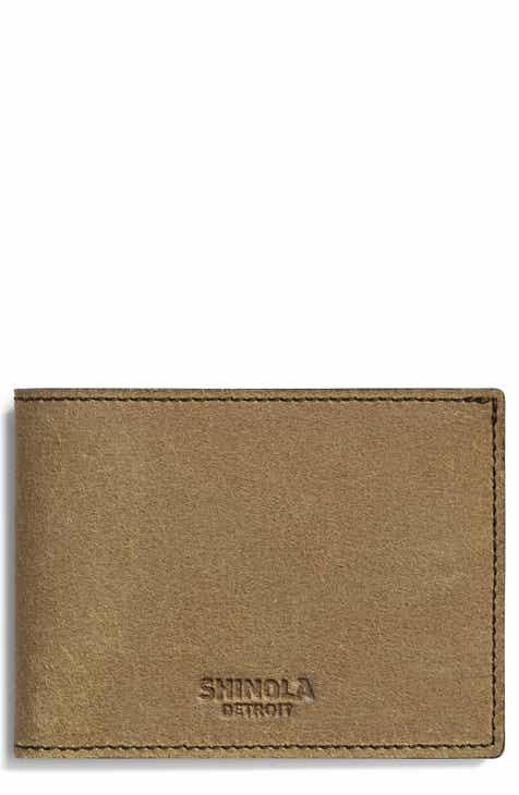 f29cc4603b1 Shinola Explorer Slim Bifold Wallet