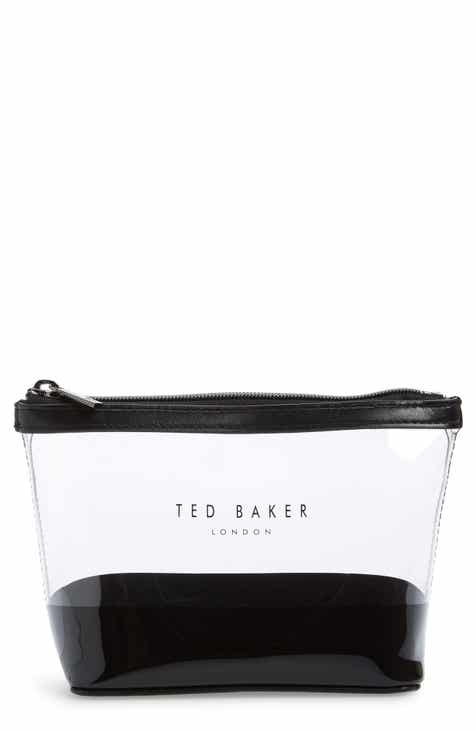 d53b5ae8f9e26 Ted Baker London Mini Glaswin Logo Clear Wash Bag