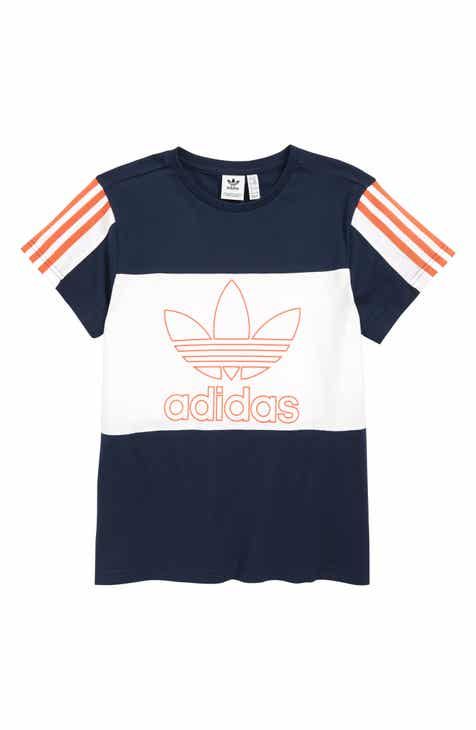 23b0d7c2fa0 adidas Originals Outline Trefoil T-Shirt (Big Boys)