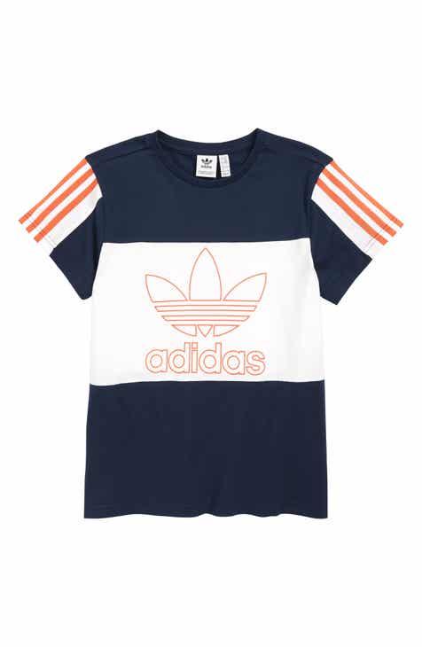 new styles 37374 e0624 adidas Originals Outline Trefoil T-Shirt (Big Boys)