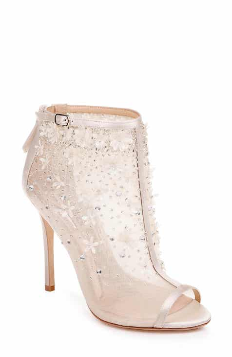 e3af8e45299d Badgley Mischka Isadora Open Toe Bootie (Women)