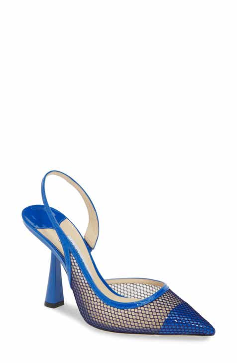 25e313df9ac271 Jimmy Choo Fetto Mesh Pointy Toe Pump (Women)