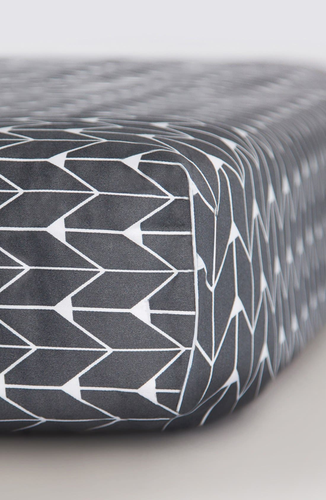 Main Image - Oilo Sateen Fitted Crib Sheet
