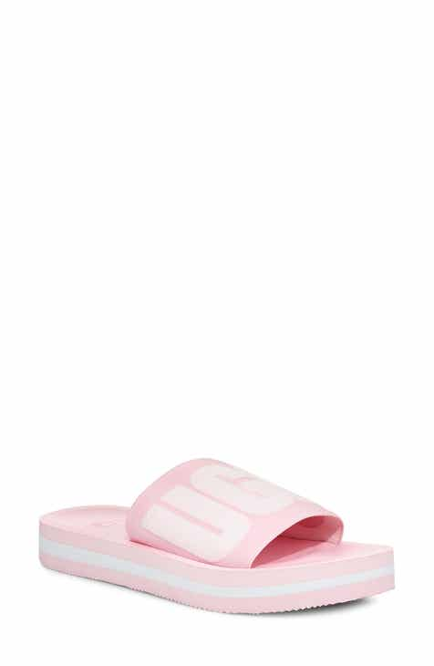 045a12ee3ee UGG® Zuma Logo Slide Sandal (Women).  64.95. Product Image. PINK DAWN SUEDE