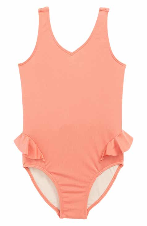 fa5b4c7a4f0f Something Navy Frill One-Piece Swimsuit (Toddler Girls