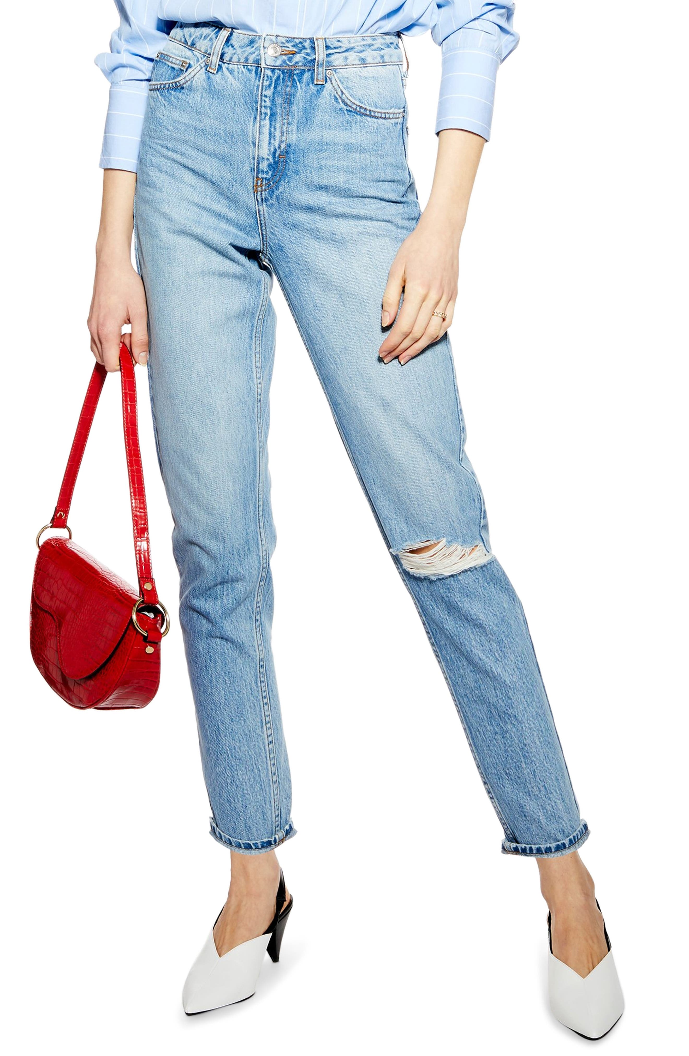 Coupon code Topshop Ripped Mom Jeans