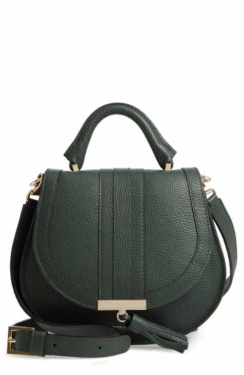 9a87de20e5a DeMellier Mini Venice Grained Leather Crossbody Bag