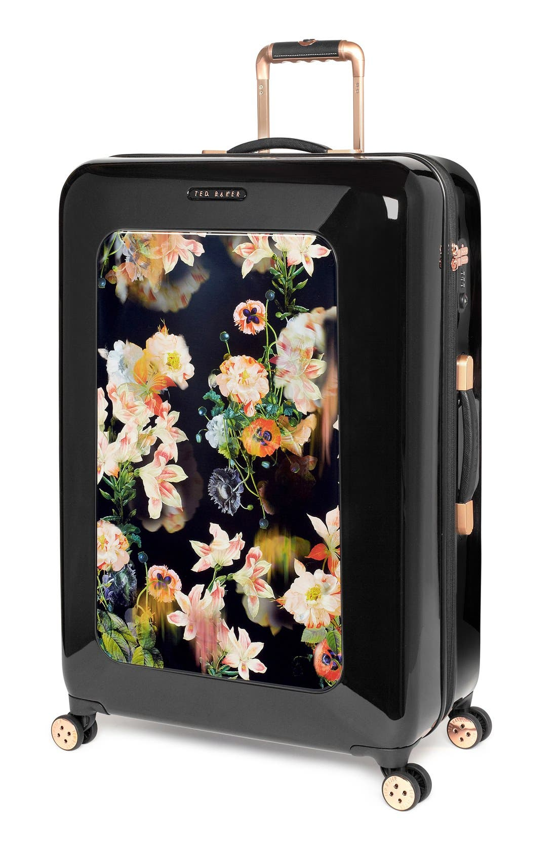 Alternate Image 4  - Ted Baker London 'Large Opulent Blooms' Hard Shell Suitcase (32 Inch)