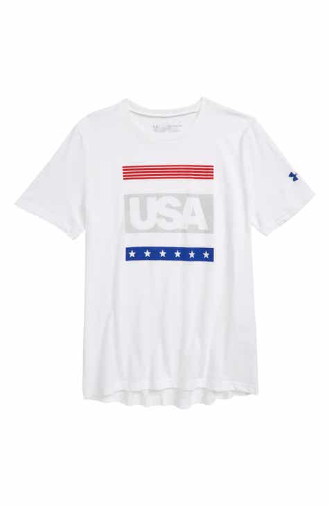 44ee42d44fcac Under Armour Americana Graphic T-Shirt (Big Boys).  20.00. Product Image