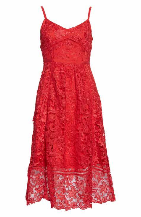 033e037f197 Ted Baker London Valens Lace Midi Dress