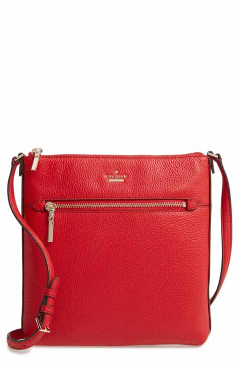 516c8c831f0 kate spade new york large shirley leather crossbody bag