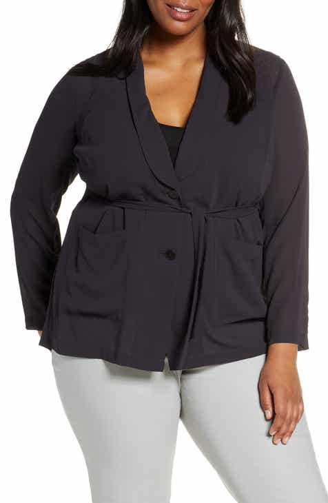 d8f96daa0f9 NIC+ZOE Breeze Through Blazer (Plus Size)