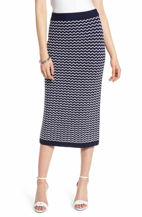 Halogen® Knit Midi Skirt By HALOGEN by HALOGEN New