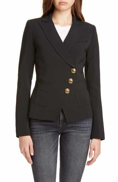 Smythe Asymmetrical Button Blazer by SMYTHE