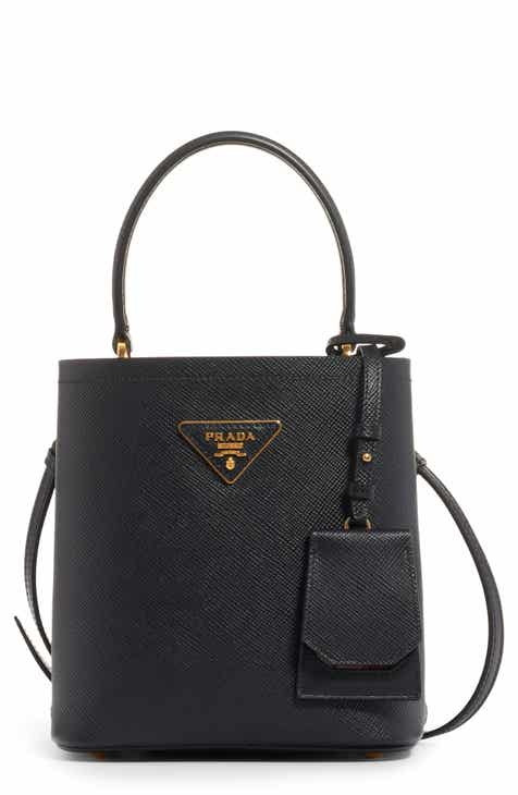 2f4a72af3d42 Prada Small Saffiano Leather Bucket Bag