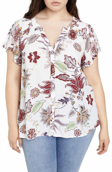 1f7d2bee0eb9 Sanctuary Charmer Front Button Shirt (Plus Size)