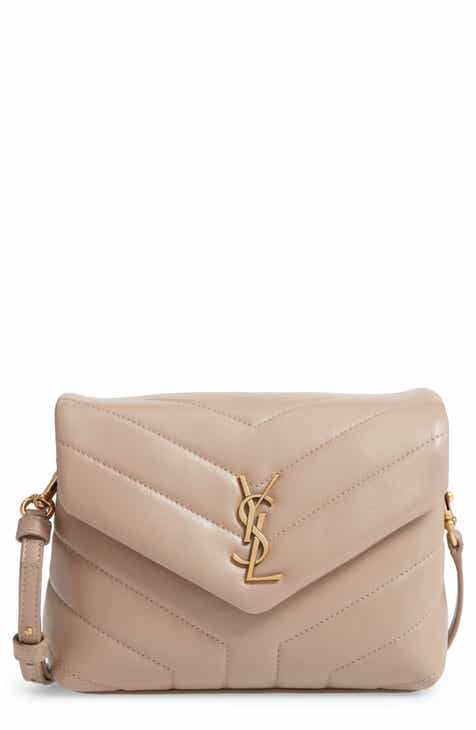254e25cd5710f3 Saint Laurent Toy Loulou Matelassé Leather Crossbody Bag