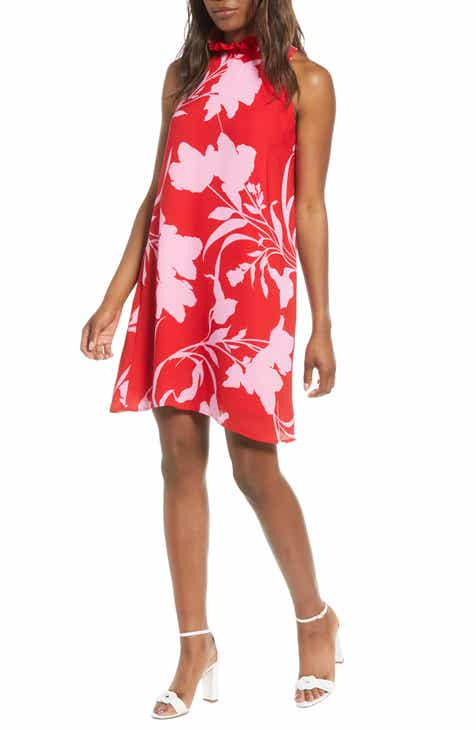 e6f5f83ff9be0 Cavallo Ruffle Neck Date Dress (Regular & Petite)