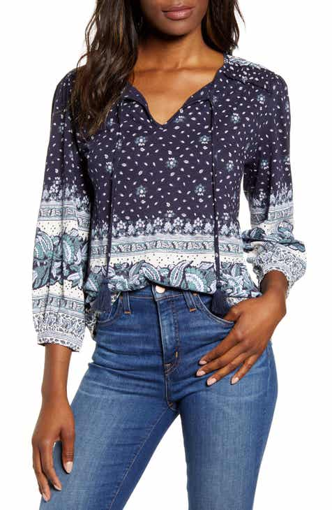 75f590283e Women's 3/4 Sleeve Tops | Nordstrom