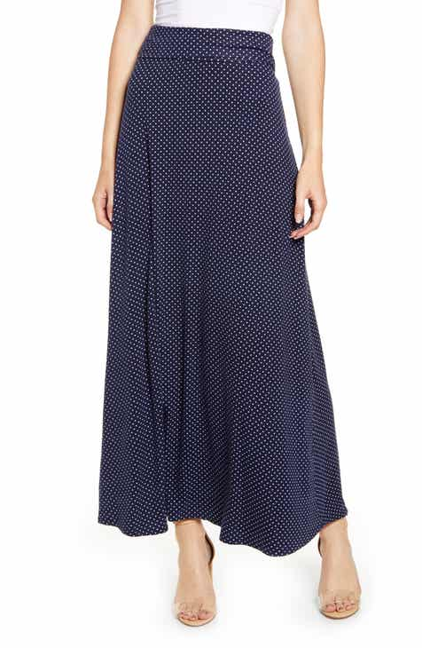 9fc292e24291ce Loveappella Roll Top Maxi Skirt