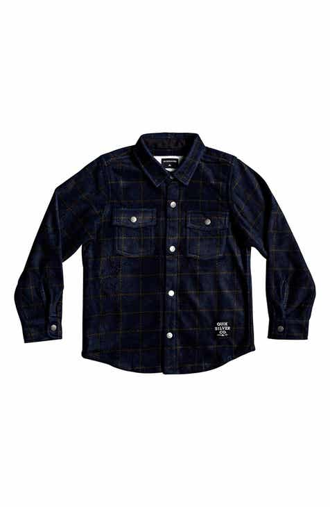 1b875d8e159a Quiksilver Surf Days Plaid Shirt (Toddler Boys & Little Boys)