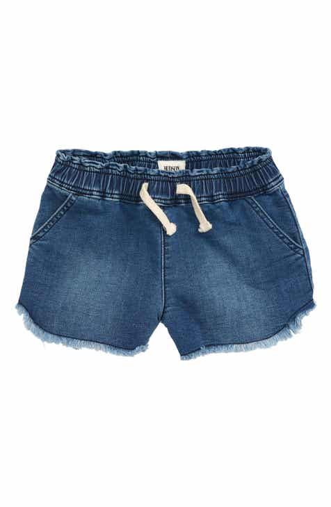 cdfb92a38 Hudson Jeans Katie Cutoff Knit Denim Shorts (Toddler Girls & Little Girls)