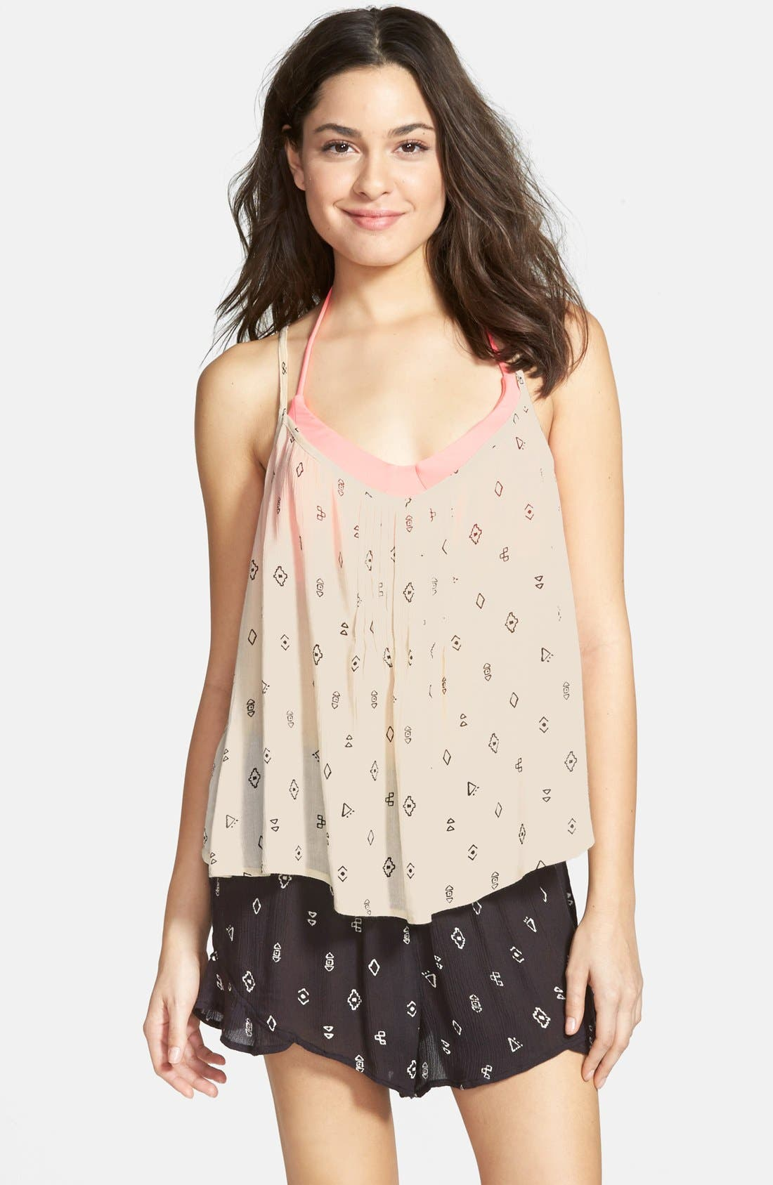 Alternate Image 1 Selected - Billabong 'Day Dreamy' Print Tank