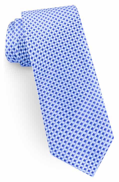 70d10da0f28e3 Ted Baker London Check Narrow Silk Tie