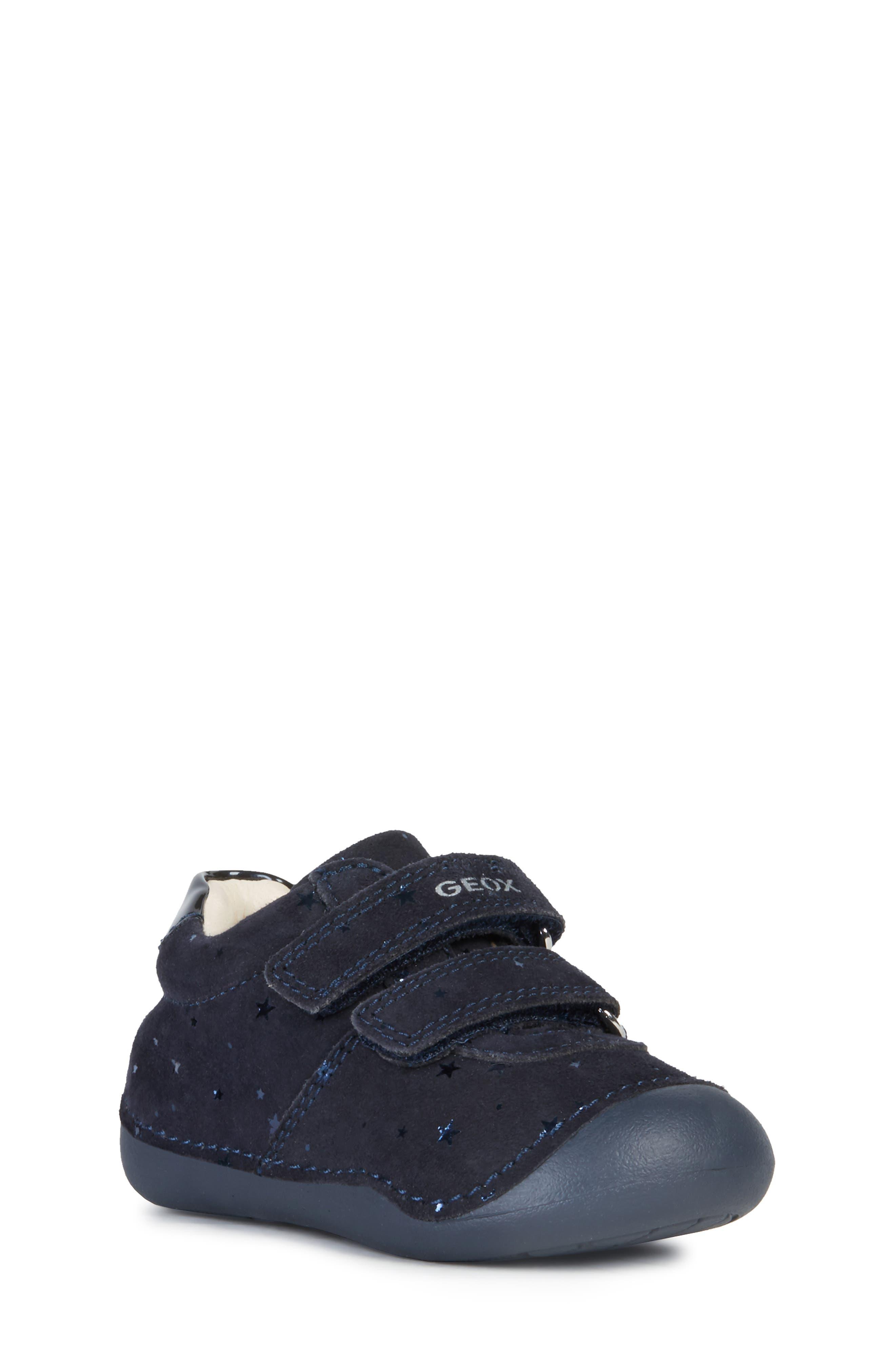 Geox B TUTIM Blau Schuhe Sneaker Low Kind 43