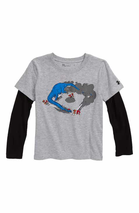 b252e7959b Boys' Under Armour Clothing: Hoodies, Shirts, Pants & T-Shirts ...
