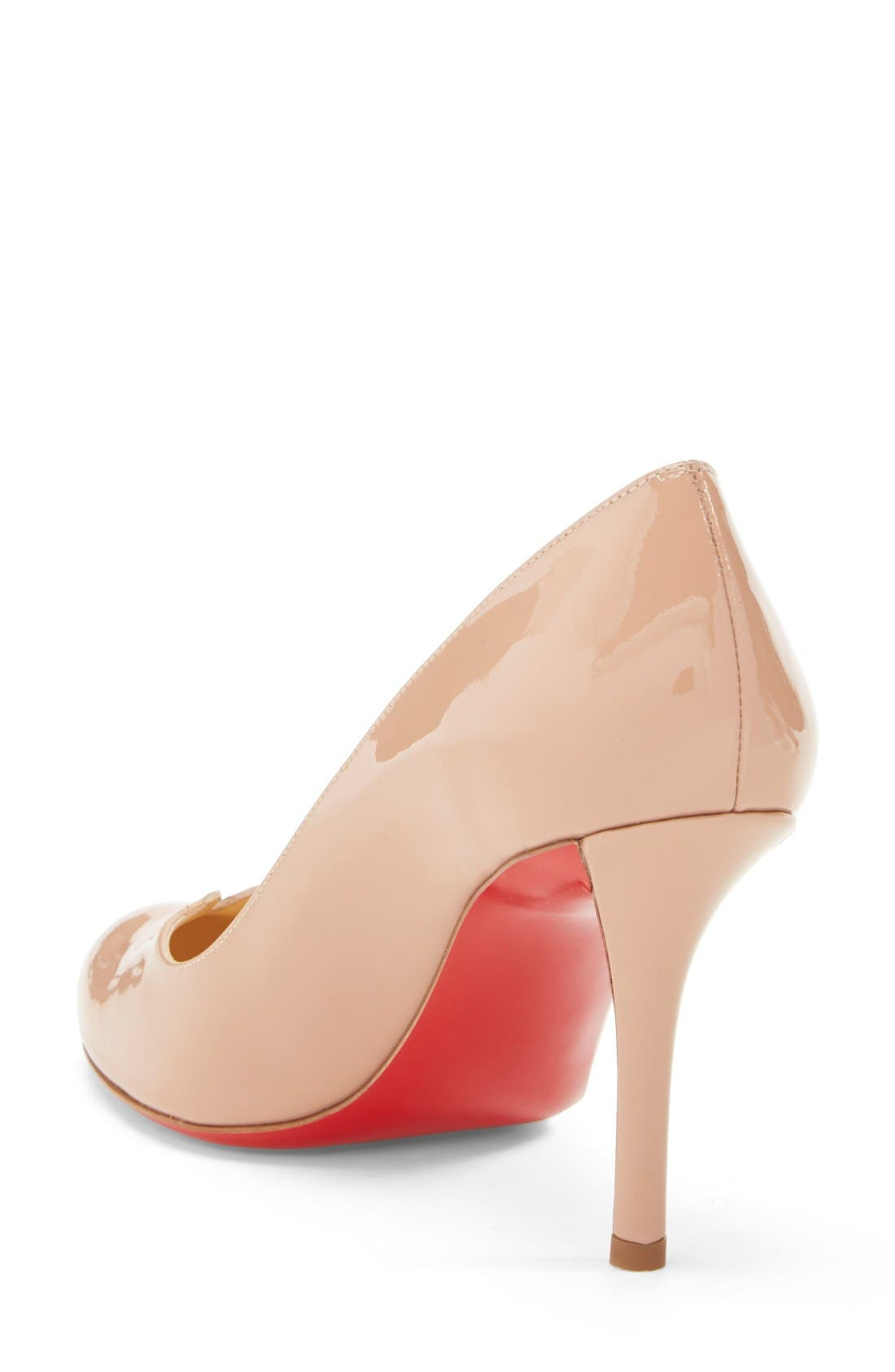 Alternate Image 2  - Christian Louboutin 'Sophia Regina' Notched Round Toe Pump