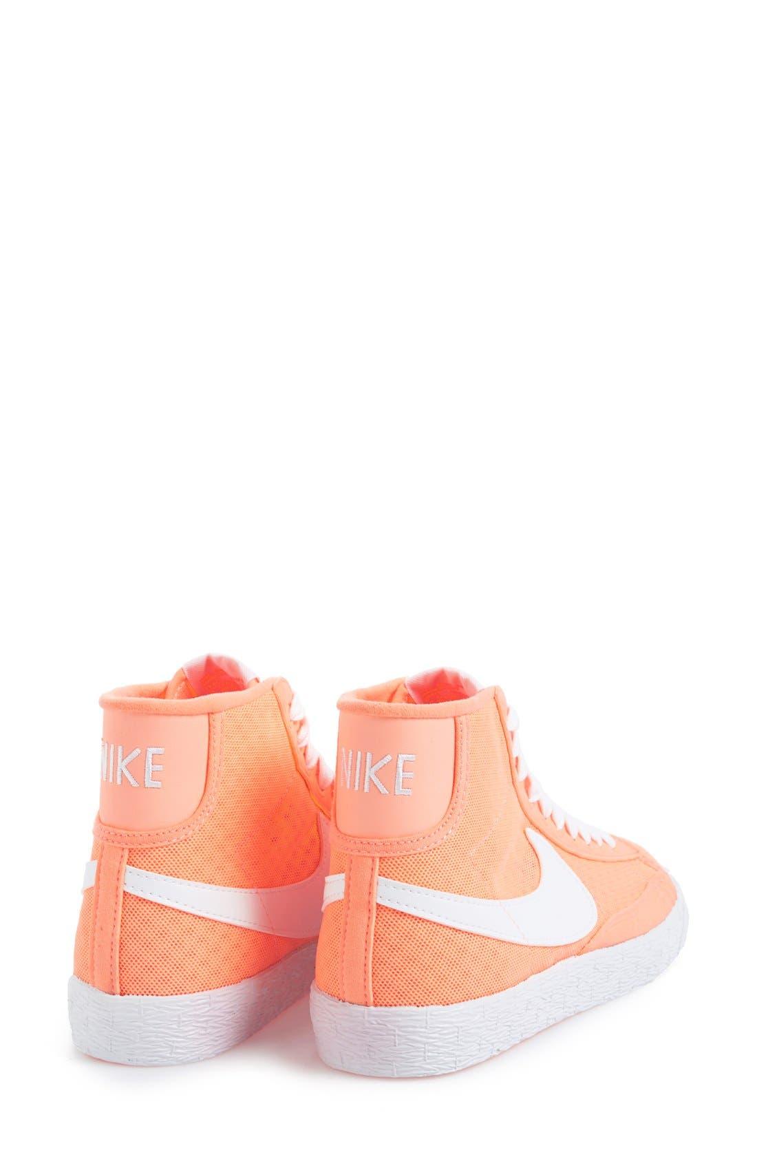 Alternate Image 5  - Nike 'Blazer' Vintage High Top Mesh Sneaker (Women)