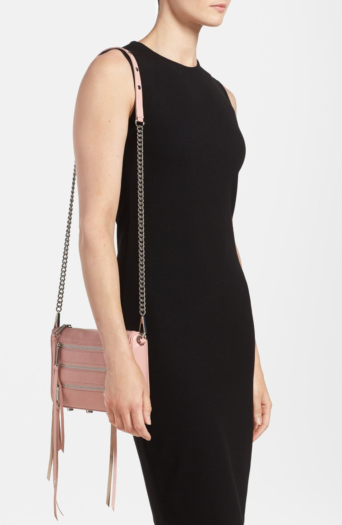 Alternate Image 2  - Rebecca Minkoff 'Mini 5 Zip' Convertible Crossbody Bag