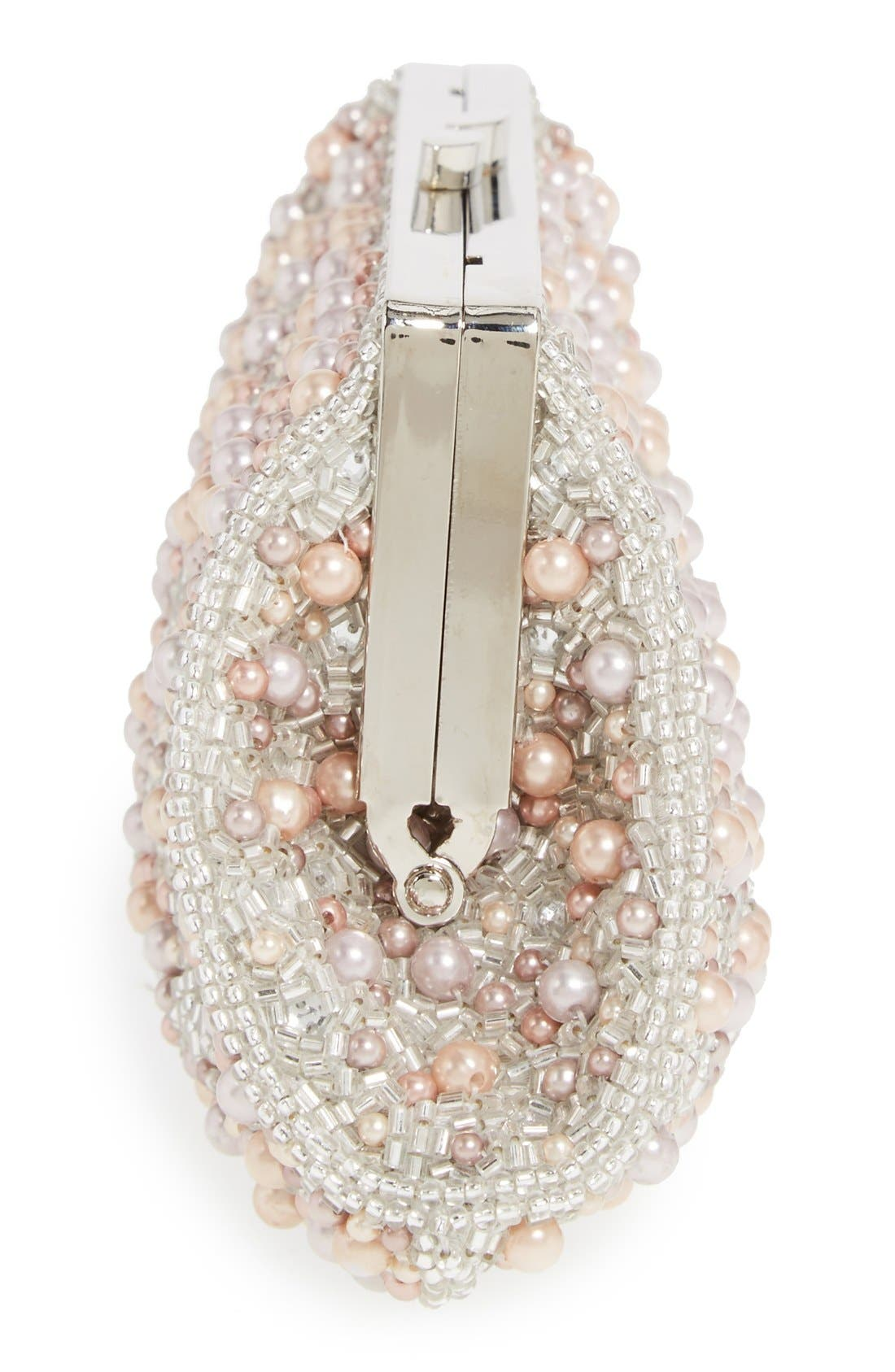 Alternate Image 5  - Glint 'Pearl Encrusted' Clutch