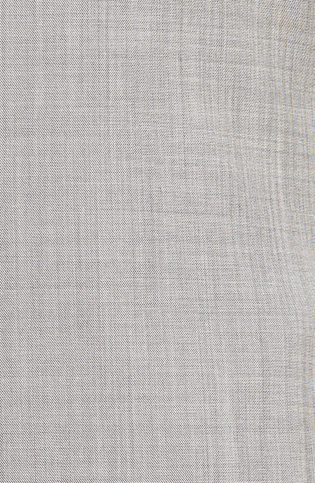 Jones Trim Fit Wool Suit,                             Alternate thumbnail 7, color,                             Medium Grey