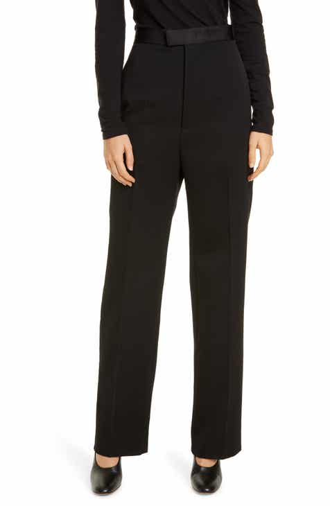 Bottega Veneta Tux Stripe Wool Pants