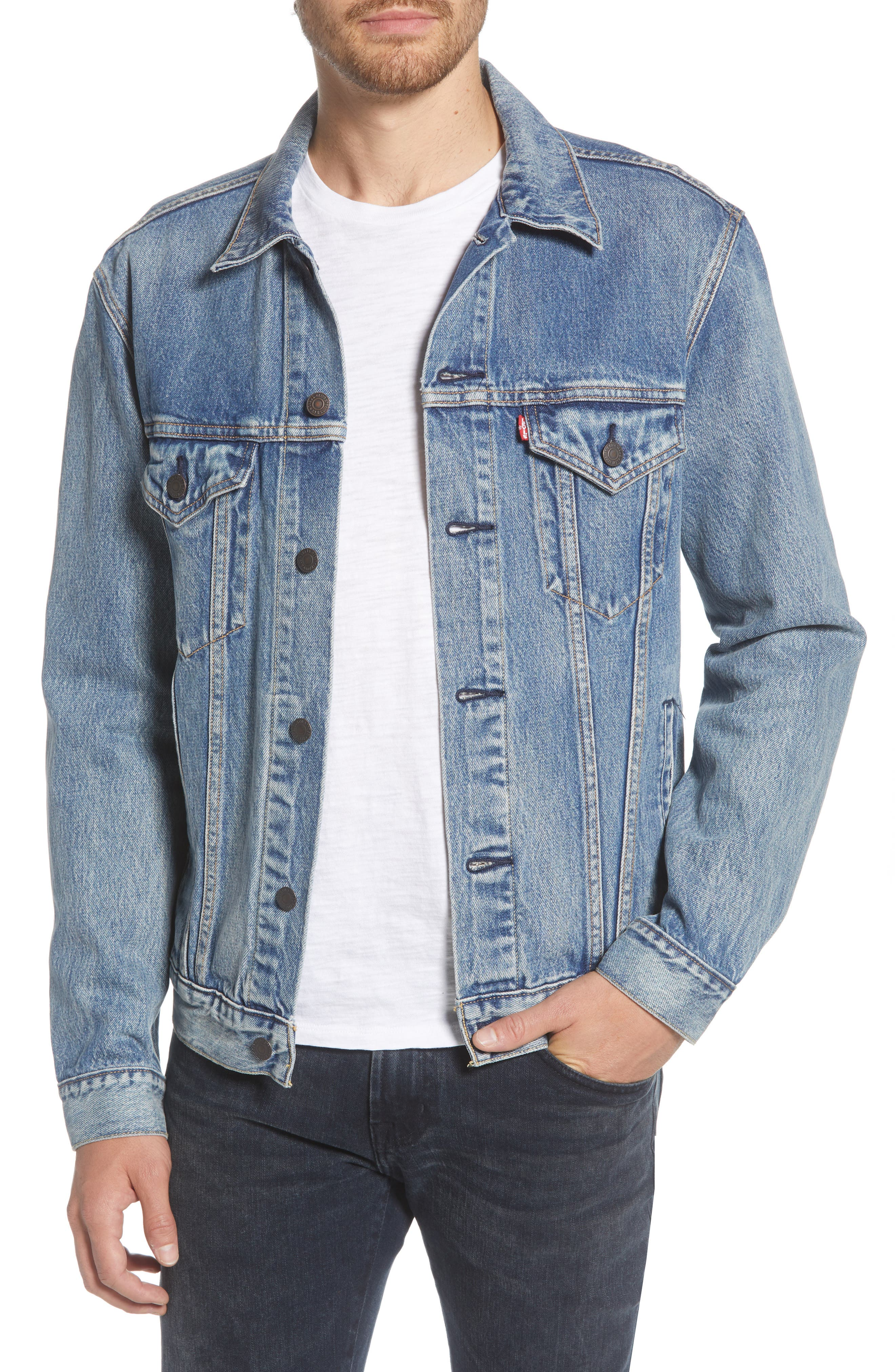 New Women/'s Top Wool Look Denim Stretch Jeans Cardigan Overcoat Vintage Jacket