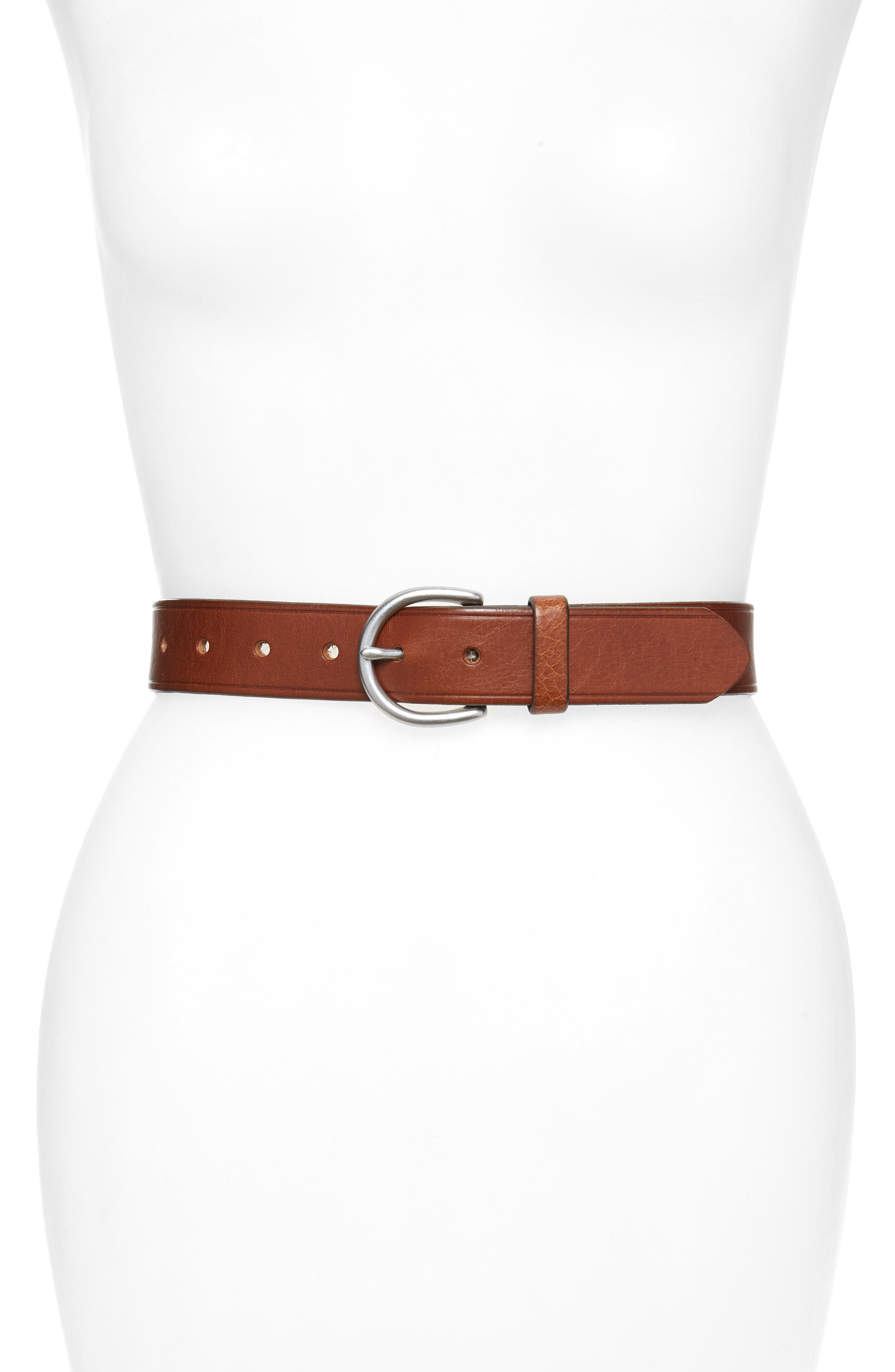 High Quality Trending Women/'s Genuine Leather Belts Square