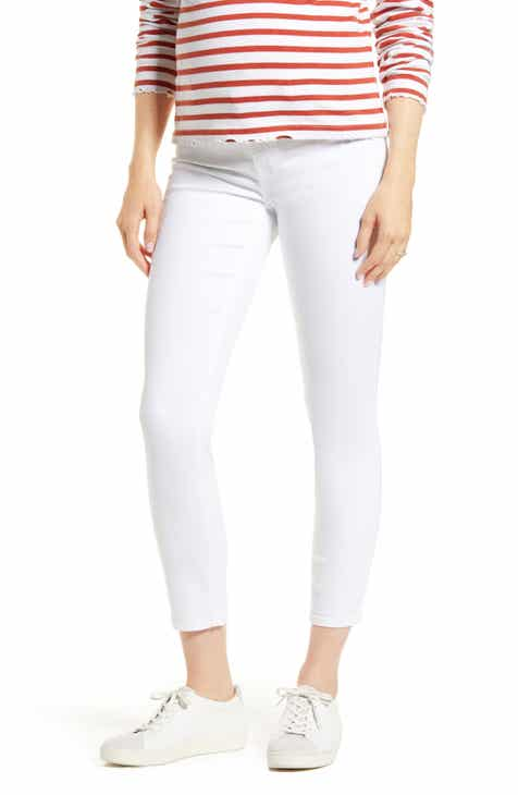 7 For All Mankind® The Ankle Skinny Maternity Jeans