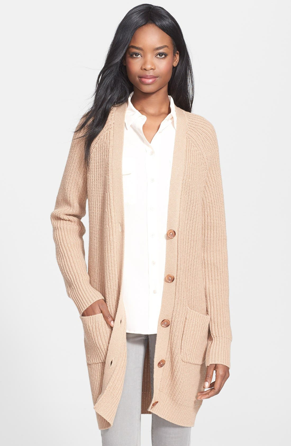 Alternate Image 1 Selected - Equipment 'Kathy' Wool & Cashmere Cardigan