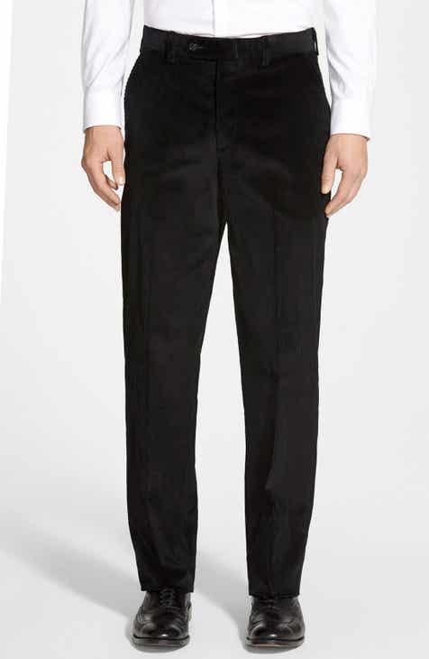 34e9027e41b Berle Flat Front Corduroy Trousers