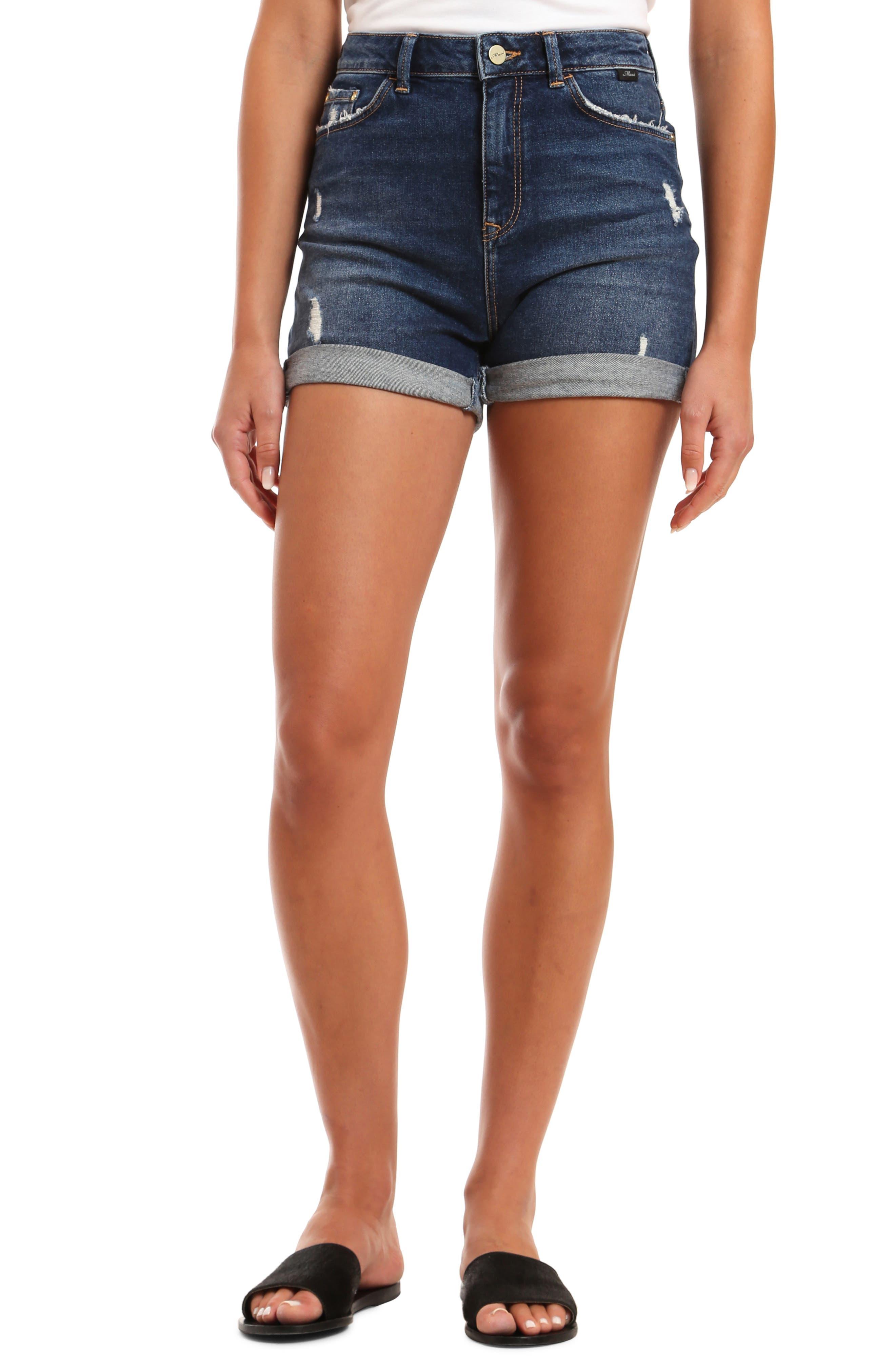 Mavi YOUNG FASHION Damen PIXIE Damen Kurze Hose Shorts