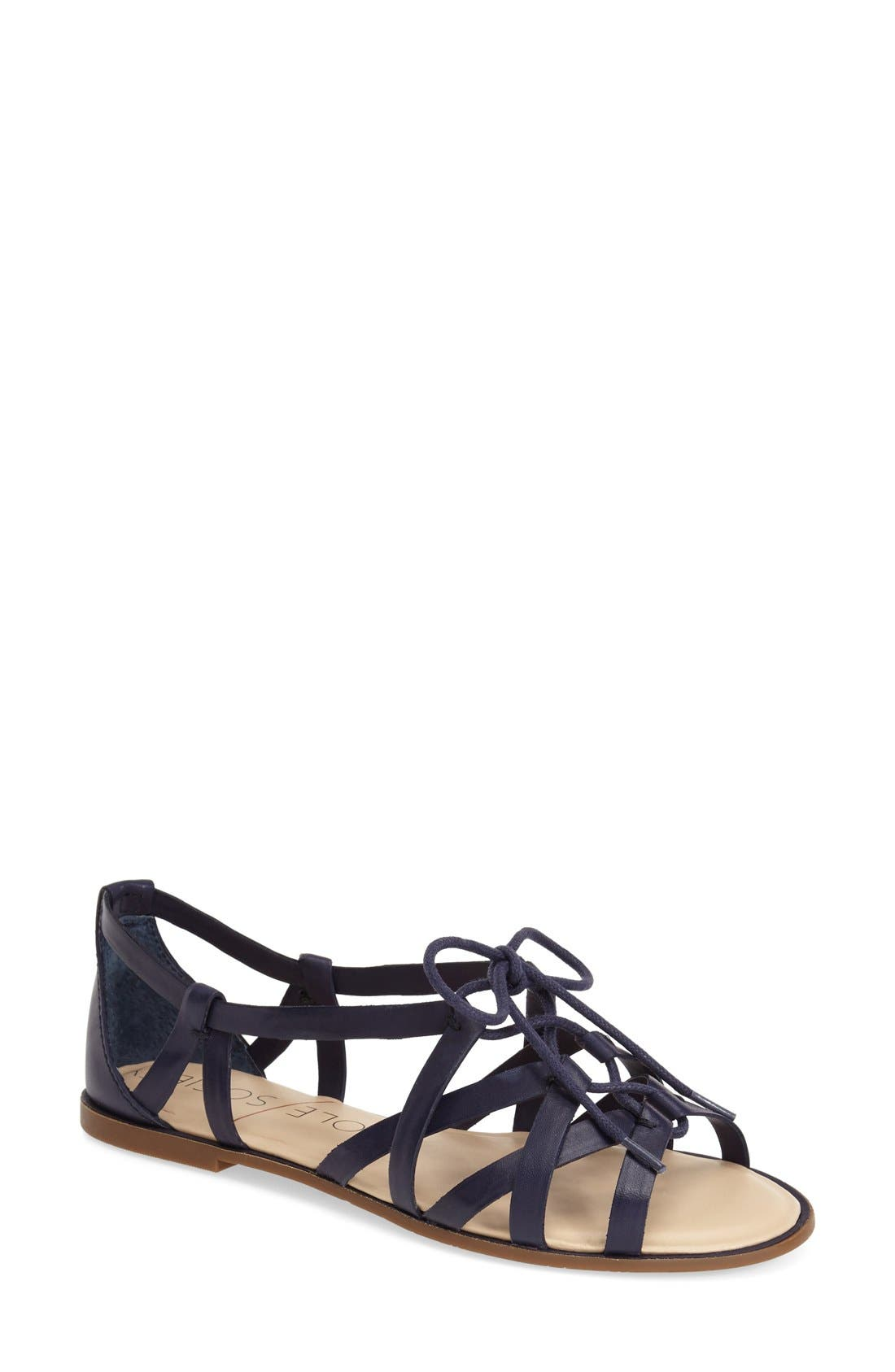 Main Image - Sole Society 'Gillian' Gladiator Sandal (Women)