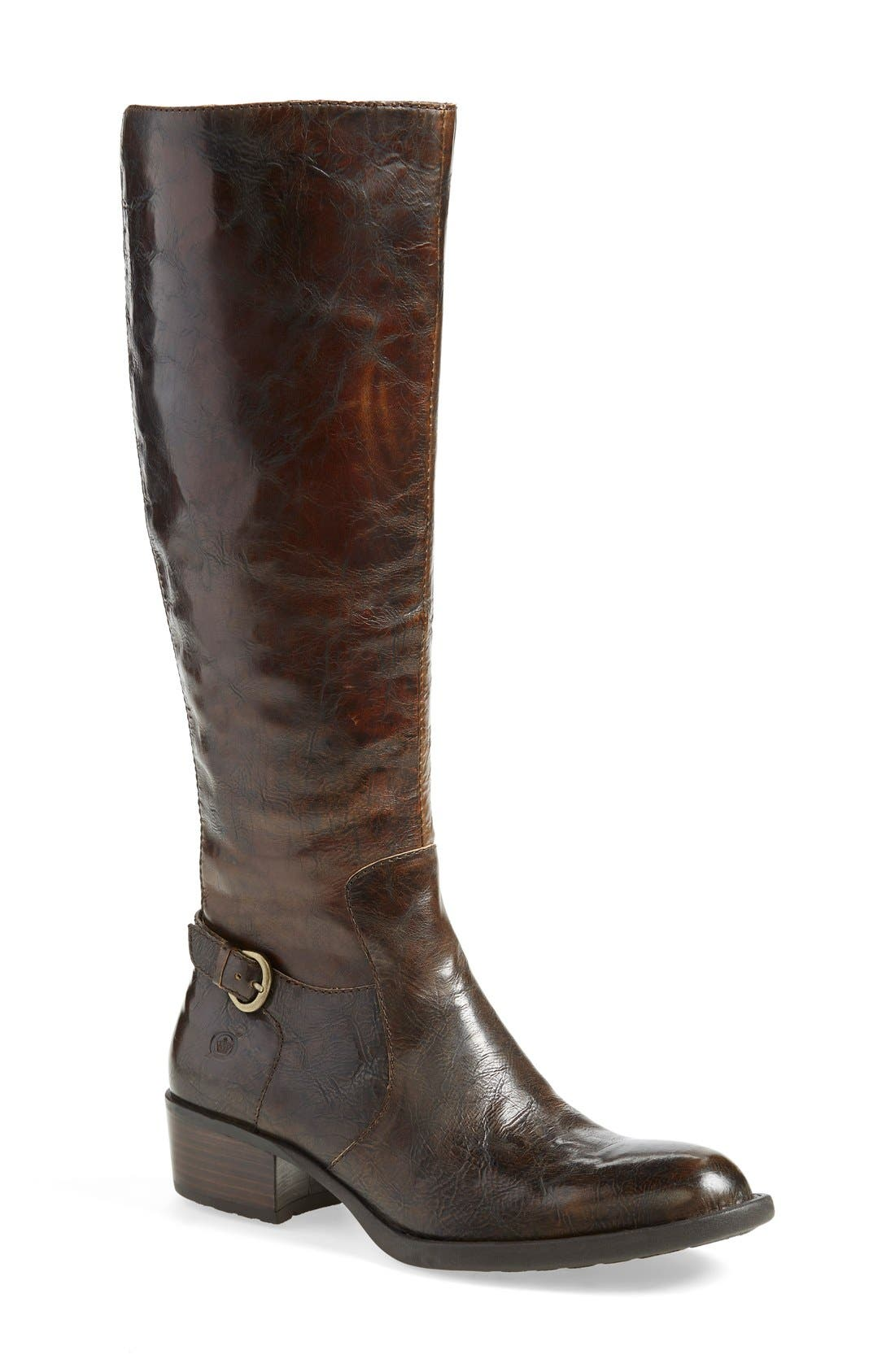 Alternate Image 1 Selected - Børn 'Helen' Boot (Women) (Wide Calf)